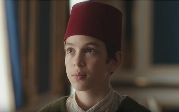 Çocuk oyuncularımızdan Arda Taşarcan, Payitaht Abdülhamid dizisinde.