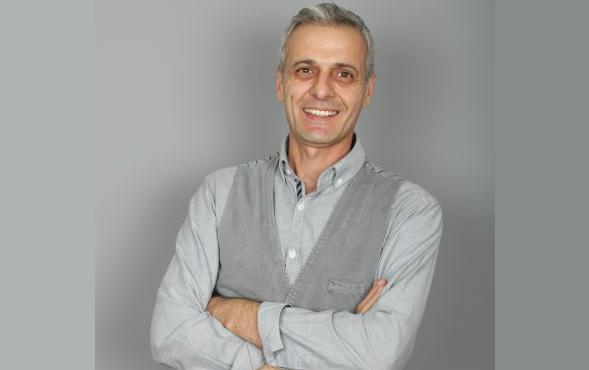 Oyuncumuz Zafer Arslan, Banka Reklamı setinde.