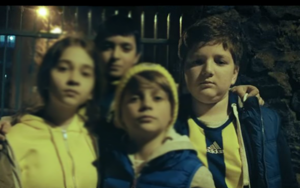 Çocuk oyuncumuz Efe Müftüoğlu, Türk Telekom Fenercell Reklamında yer aldı