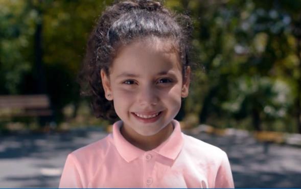 Çocuk oyuncumuz İrem Bakıner, Bayer Reklamında yer aldı.