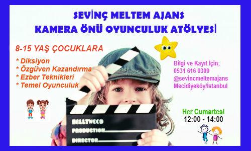 Güldüy Güldüy Show`un ablası Pembe Keçeci Yönetiminde Kamera Önü Oyunculuk Eğitimi - Şubat Ayı Kayıtlarımız Başlıyor!