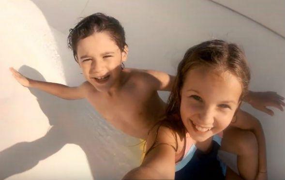 Çocuk oyuncumuz Ahmet Mete Mumcu, ETS Tur reklamında yer aldı.