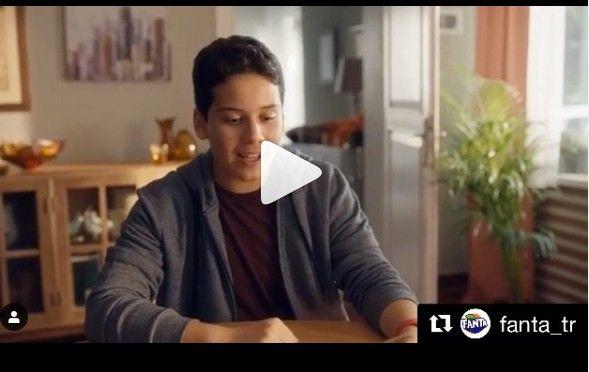 Genç oyuncumuz Ege G. Fanta-Sprite Boş Yok Reklamı yayında.