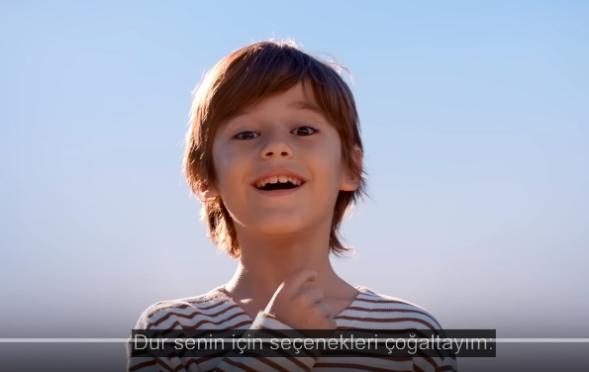Çocuk oyuncumuz Ahmet Mete Mumcu`nun yeni ETS Tur reklamı yayında.