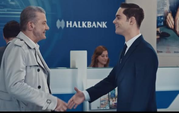 Oyuncumuz Ahmet Şentürk, Halkbank Reklamında yer aldı.