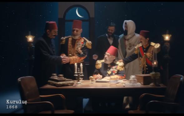 Oyuncumuz Fuat Yılmaz, Kızılay 150. Yıl  Reklamında yer aldı.