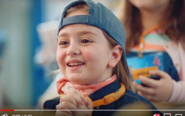 Çocuk oyuncumuz Mihrimah Cankur, Opet 23 Nisan Reklamında yer aldı.