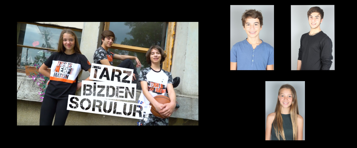 Oyuncularımız Brando Morigi, Ecesu Nasuh ve Halil İbrahim Demirhan, Defacto-Nerf Koleksiyonu Reklamında yer aldı.
