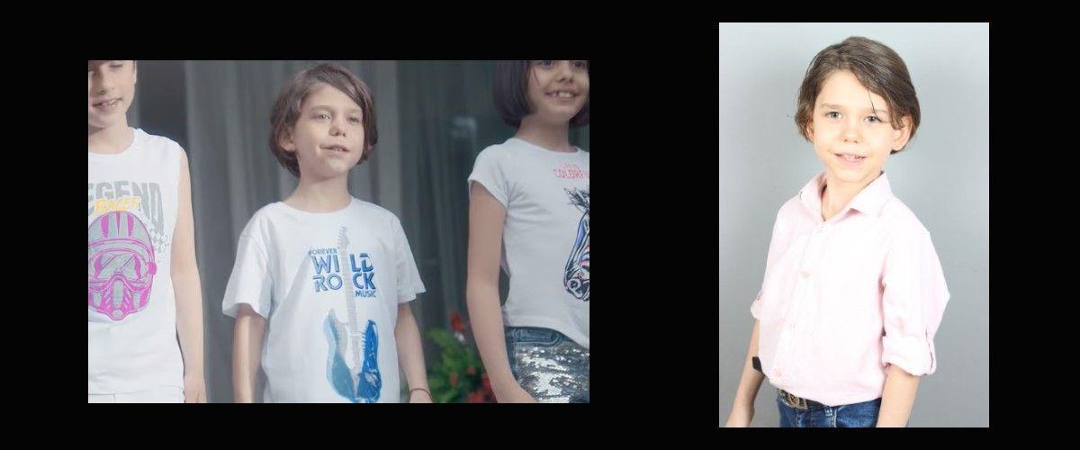 Çocuk oyuncumuz Eren Recep Bilen, DeFacto Reklamında yer aldı.