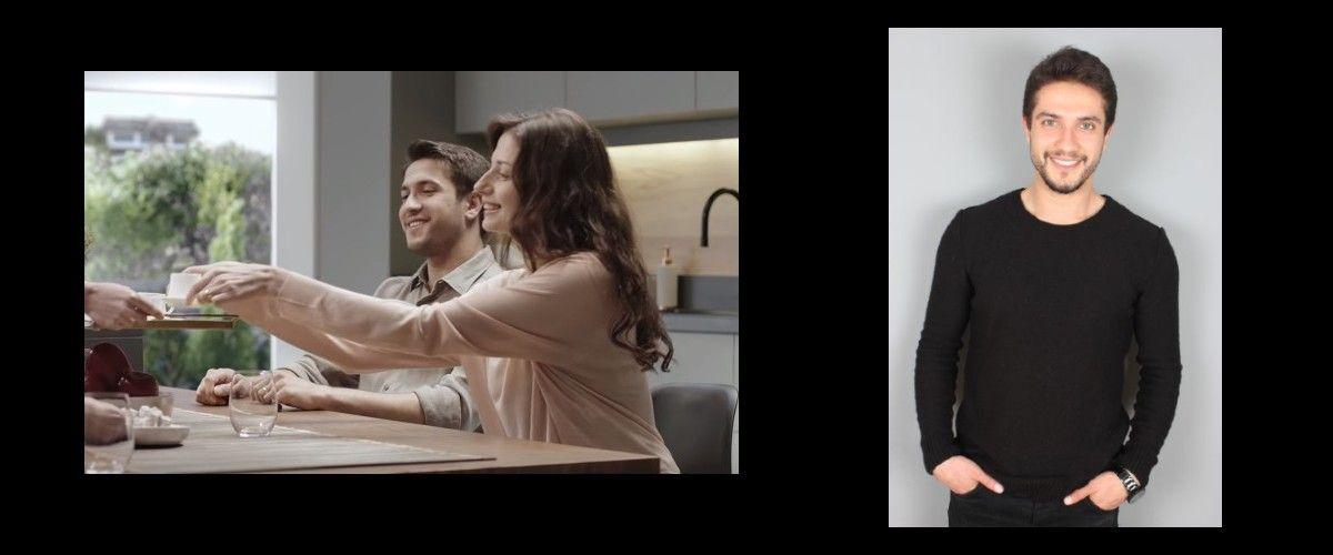 Genç oyuncumuz Nejat, Arçelik Kahve Makinası Reklamında yer aldı.
