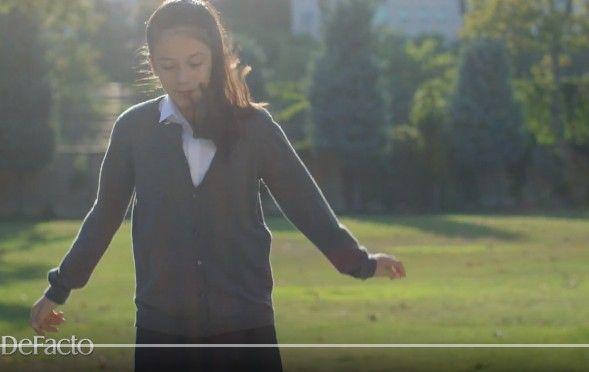 Çocuk modelimiz Zeynep Şengüler, Defacto Okula Dönüş Kampanyası Reklamında yer aldı.
