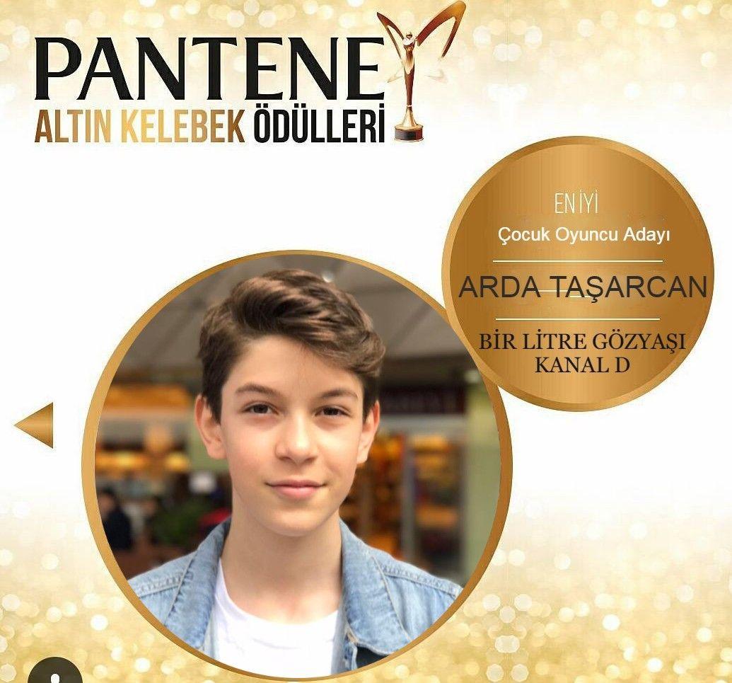 Pantene Altın Kelebek En İyi Çocuk Oyuncu Adayı! Ajansımızın çocuk oyuncusu Arda Taşarcan.