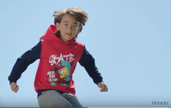 Çocuk modelimiz Mustafa Kaan Bayrak, Defacto Okula Dönüş Kampanyası Reklamında yer aldı.