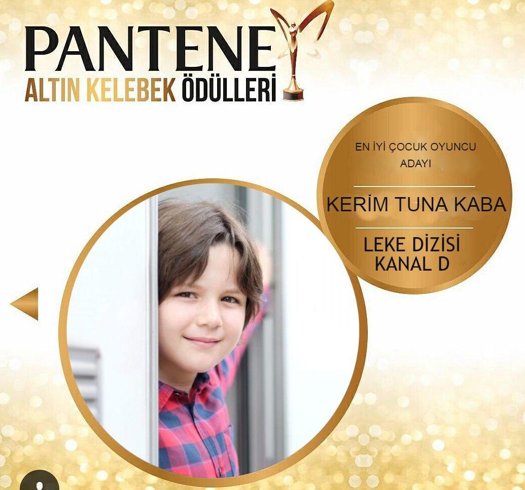 Pantene Altın Kelebek En İyi Çocuk Oyuncu Adayı! Ajansımızın çocuk oyuncusu Kerim Tuna Kaba.