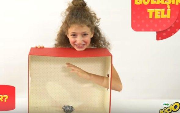 Çocuk oyuncumuz Cemresu Gençtürk, Pınar Kido Reklamında yer aldı.