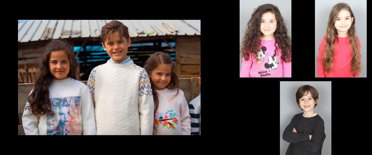 Çocuk oyuncularımız Ahmet Mete , Asya Belçim ve Esila Cansın - Özdilek Reklamında yer aldı.