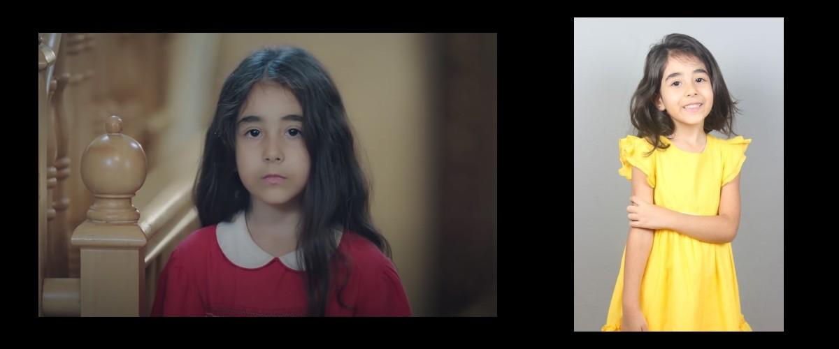 Çocuk oyuncumuz Nazlı Irmak, Kırımızı Oda dizisinde Alya karakterinin çocukluğunu canlandırmaktadır.