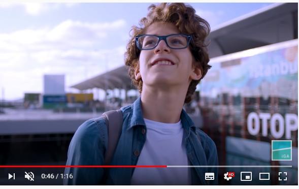 Çocuk oyuncumuz Berk, İGA 29 Ekim Cumhuriyet Bayramı reklamında rol aldı.