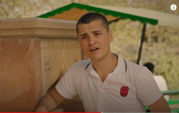 Genç oyuncumuz Sevkan, Maria ile Mustafa Dizisinde Cenk karakterini canlandırdı.