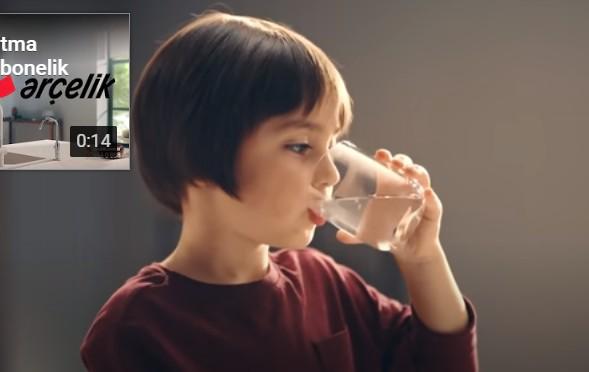 Çocuk oyuncumuz Selimhan, Arçelik Su Arıtma Sistemleri Reklamında rol aldı.