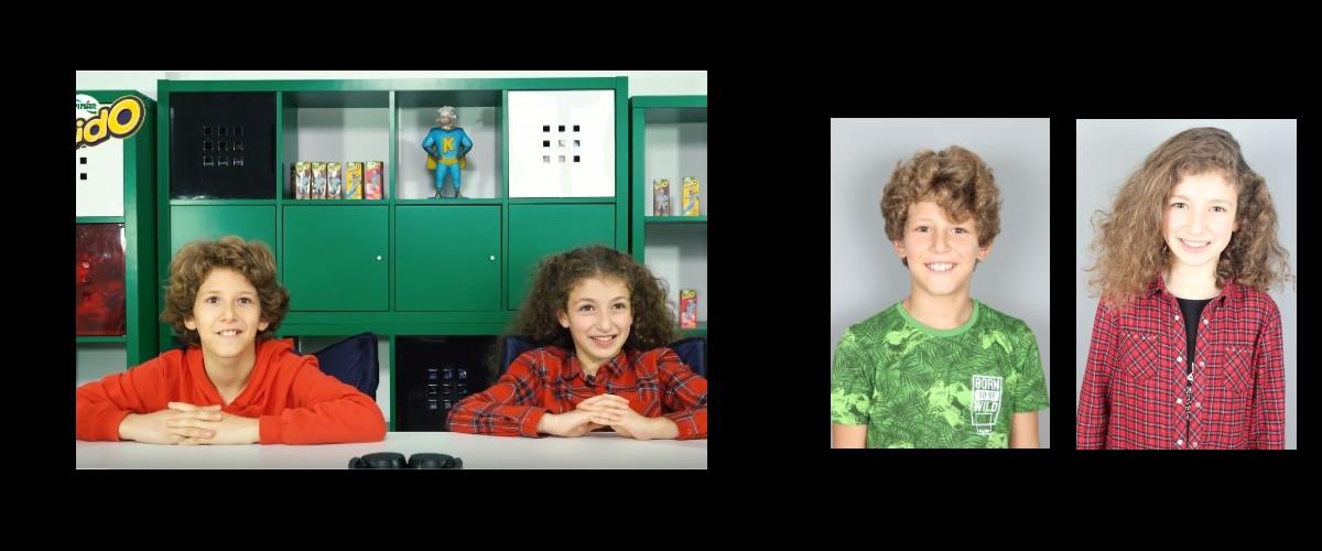 Çocuk oyuncularımız Berk ve Cemresu`nun, yer aldığı PINAR KİDO Reklamlarının 2.si Arkidolar yayında.