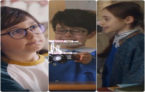 3 yetenekli çocuk oyuncumuz Mert, İrem ve Yunus Emre, Koroplast`la #BirlikteKolay Reklamında yer aldı.