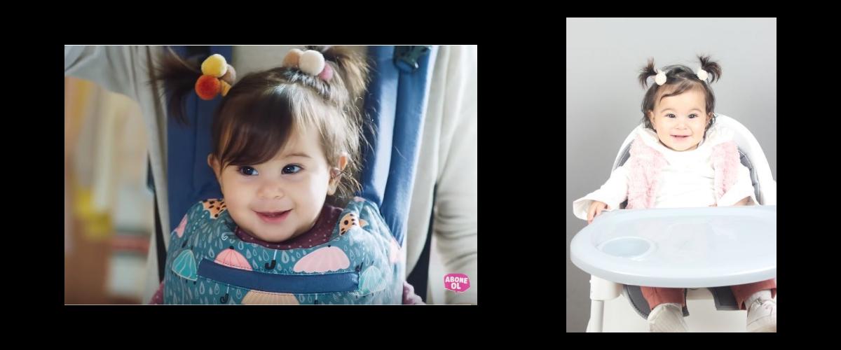 Bebeğimiz Miray, Canbebe Bebek Bezi Reklamında yer aldı.