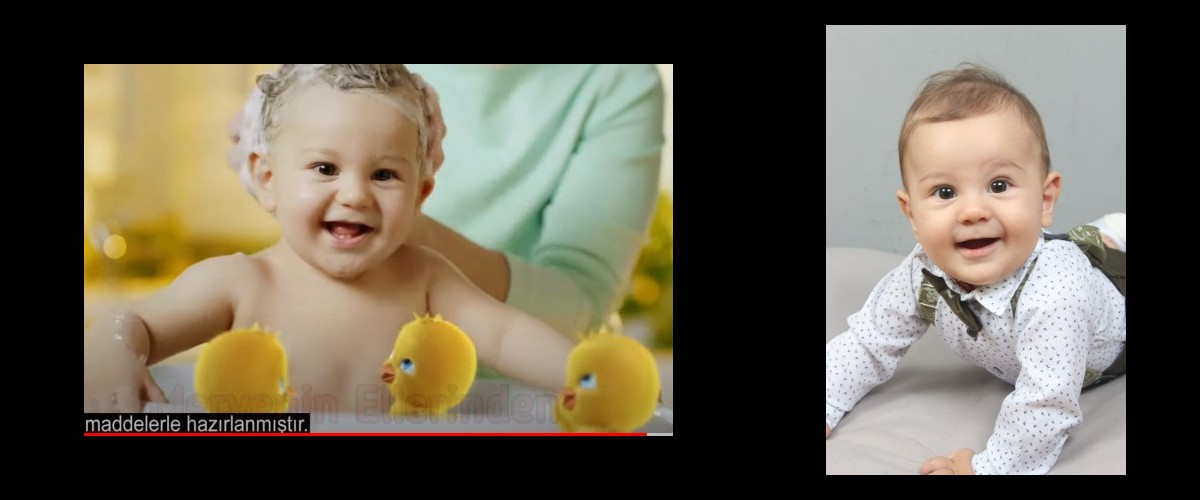Tatlı bebeğimiz Eymen`in yer aldığı, Dalin Bebek Şampuan reklamı yayında.