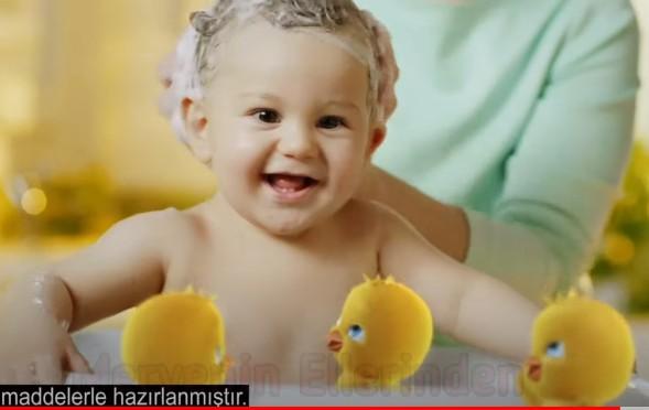 Tatlı bebeğimiz Eymen Dörtyol, Dalin Bebek Şampuanı Reklamında yer aldı.
