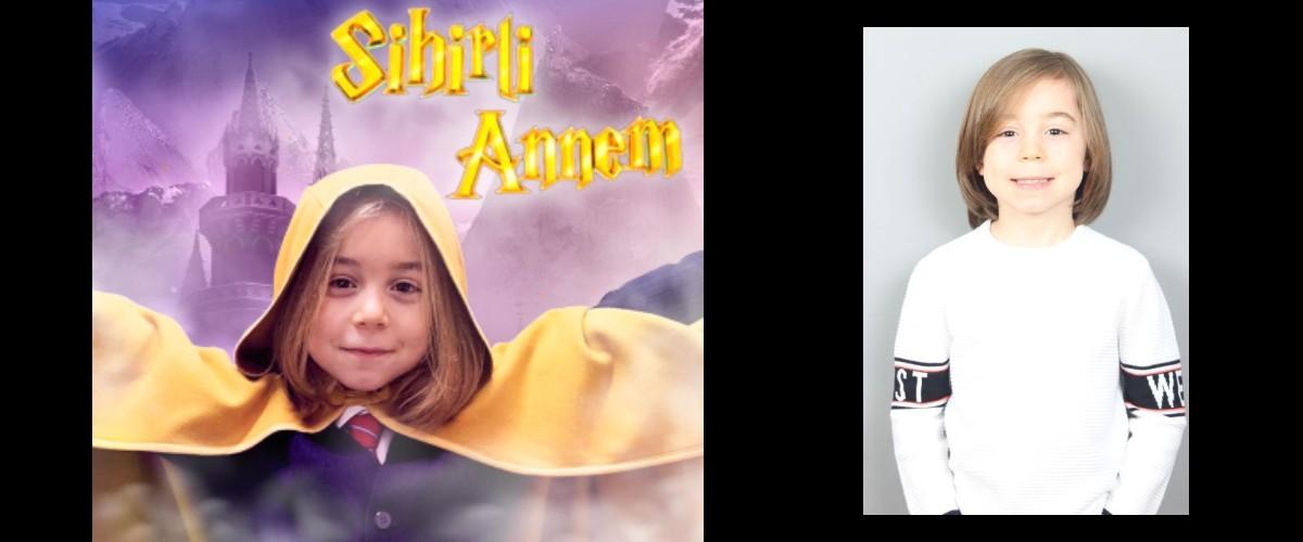 Çocuk oyuncumuz Aras, Exxen`de yayınlanan Sihirli Annem Dizisinde -  Yankı karakterini canlandırmaktadır.