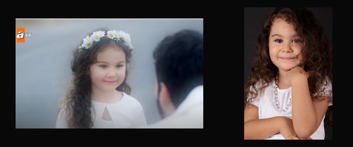Antalya`da yaşayan çocuk oyuncumuz Almina Ayşe, Hercai Dizisinde rol almaktadır.