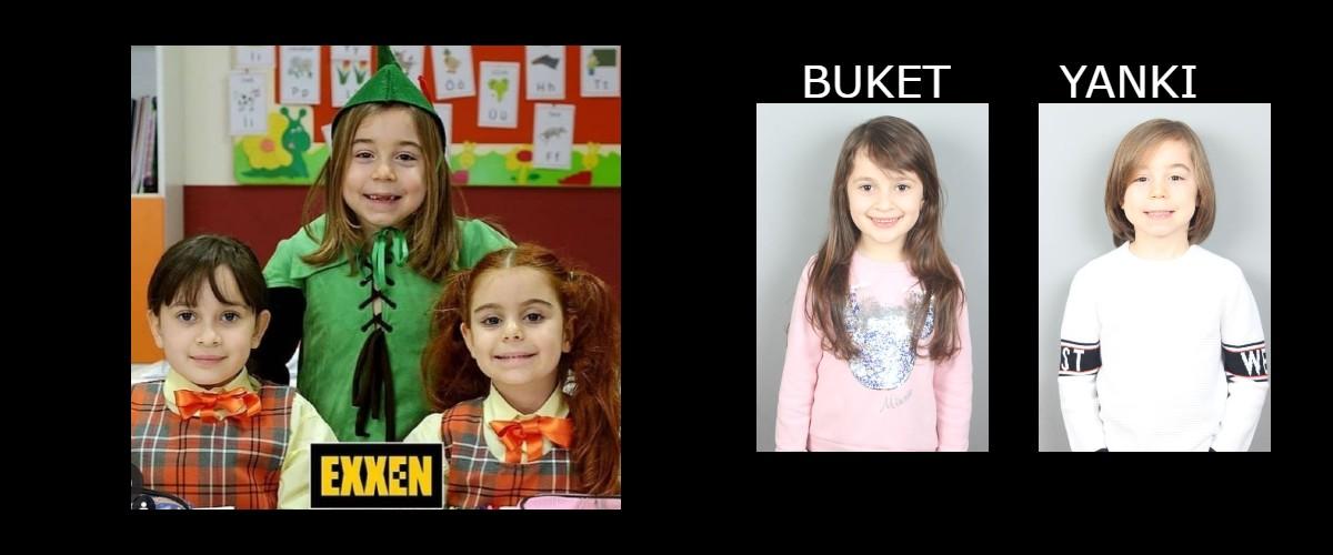 Çocuk oyuncularımız Aras ve İdil Su, Sihirli Annem Dizisinde anacastta rol almaktadırlar.