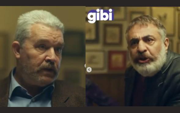 Değerli oyuncularımız Adnan Celal Bey ve Yurdaer Bey , GİBİ dizisinde rol aldılar.