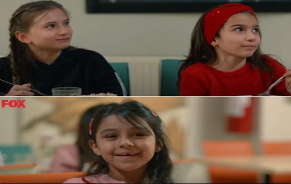 3 tatlı kızımız Elif Ece, Elif Naz ve Esma Aynur, Kefaret Dizisinde rol aldı.