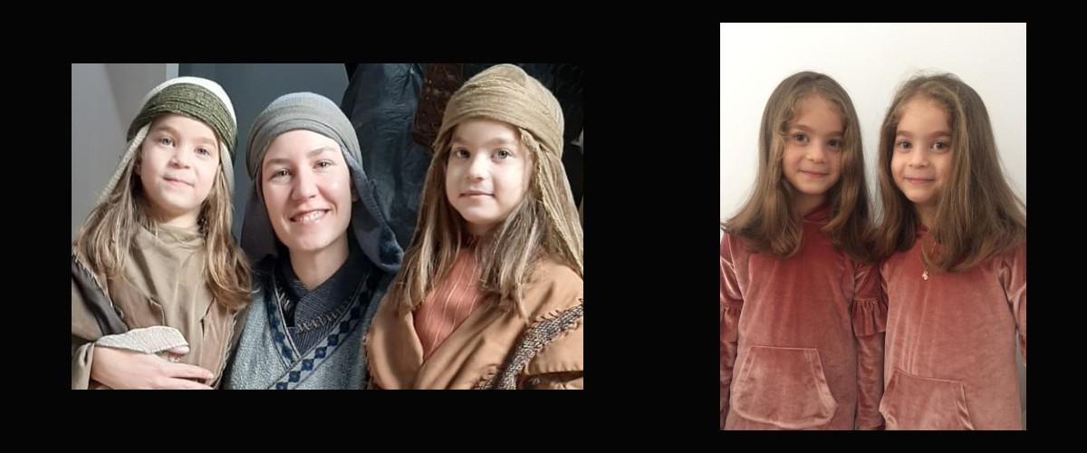 Uzaktan(online) kayıtlarımızdan ikiz kızlarımız Lilya ve Lina , Uyanış Büyük Selçuklu Dizisinde rol almaktadır.
