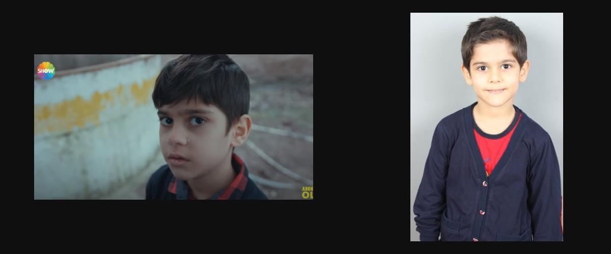 Çocuk oyuncumuz Süleyman Eymen,  Arıza Dizisinde rol aldı.
