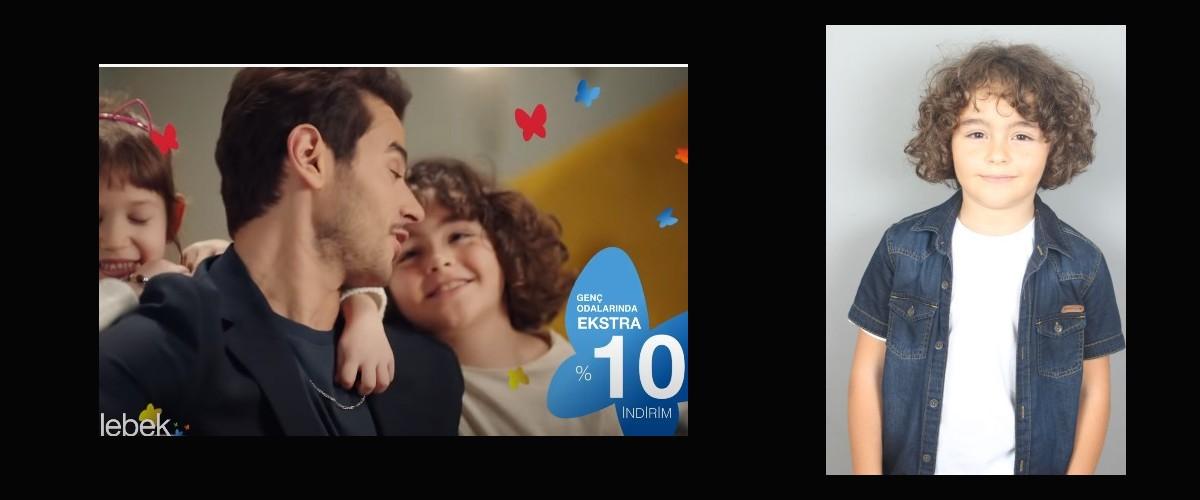 Çocuk oyuncumuz Behnan`ın, Kelebek - Cem Belevi Kelebek Kids Reklam Filmi yayında.
