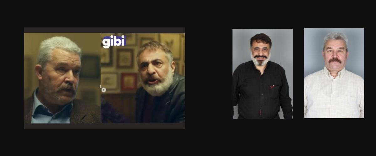 Değerli oyuncularımız Adnan Celal Bey ve Yurdaer Bey , EXXEN`de GİBİ dizisinde rol aldılar.
