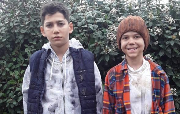 Yetenekli çocuklarımız Eren ve Muhammet Musa Kefaret Dizisinde rol aldılar.