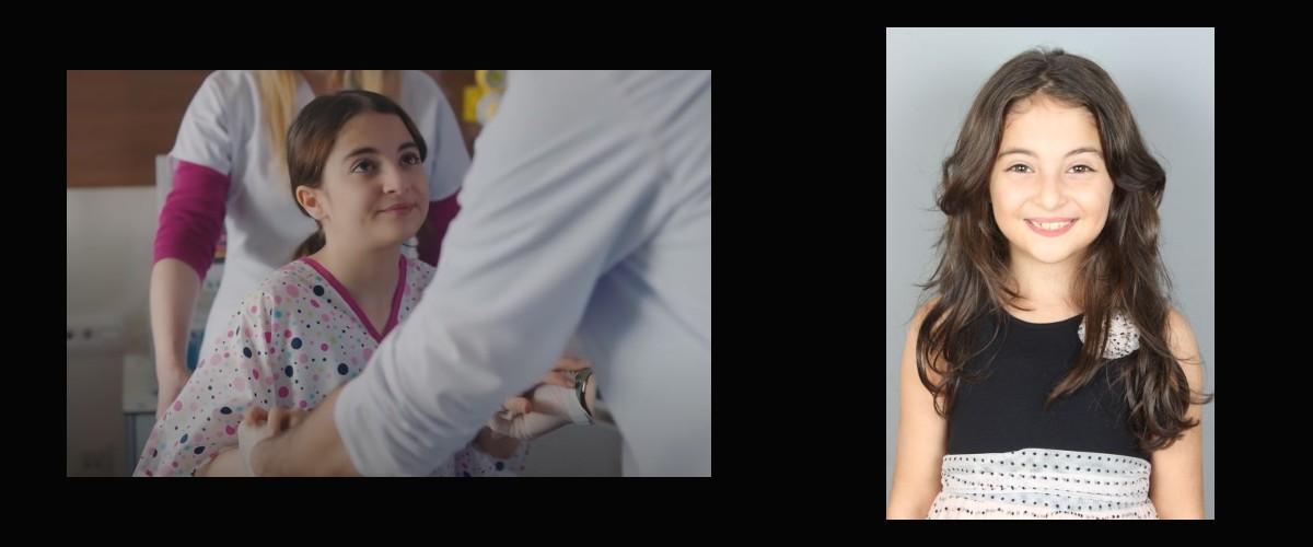 Çocuk oyuncumuz Ecrin, Mucize Doktor Dizisi 57.bölümünde konuk oyuncu olarak yer aldı.