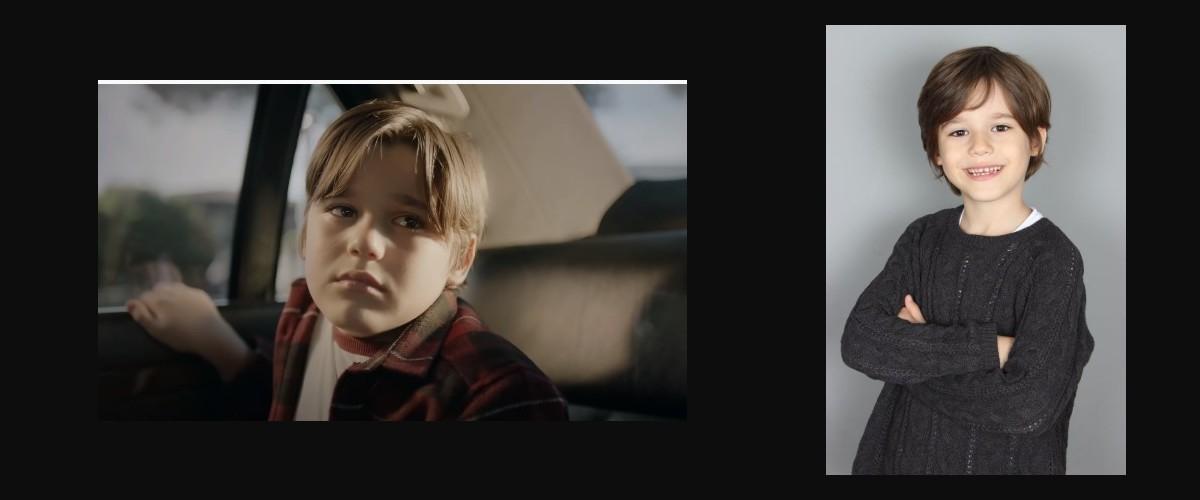 Çocuk oyuncumuz Ahmet Mete, Camdaki Kız dizisinde Çocuk Muzo karakterini canlandırmaktadır.