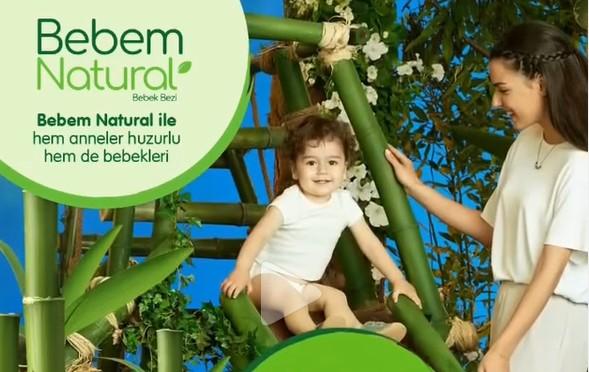 Bebem Natural Reklamında tatlı bebeğimiz Talha Eymen Şeker yer aldı.