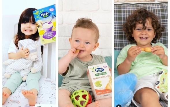 3 tatlı bebeğimiz Eylül ,  Derin Mavi ve Oğuz Kaan, Hero Baby Reklamında yer aldılar.