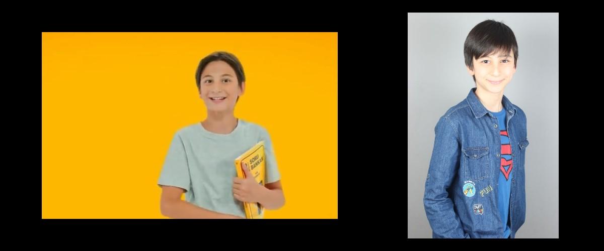 Hız Yayınları Reklamında yetenekli oyuncumuz Kuzey Alagöz yer aldı.
